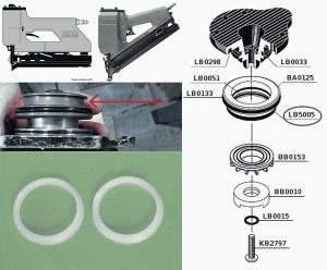 2 X LB5005 Seals for M1 M2 M3 SC1 SC2 SFN2