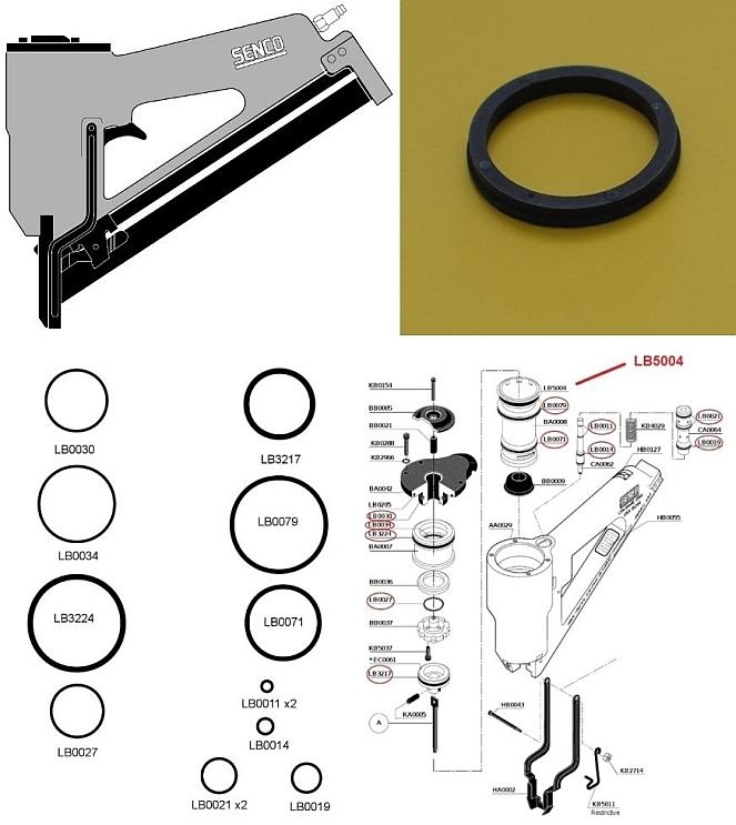 SN1 O-ring Kit + LB5004